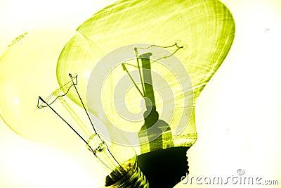 Vit för ljus kula