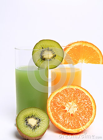 Vitamin C fruit juices