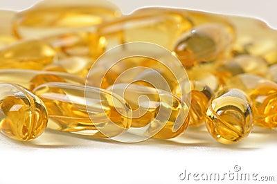 Vitamin caplets