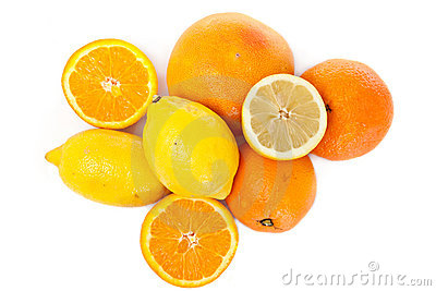 Vitamin from orange and lemon