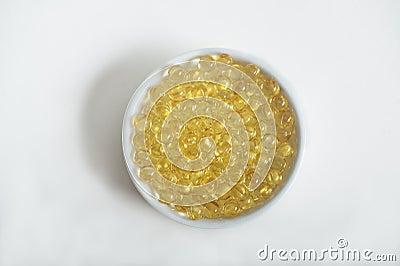 Vitamin Pills (A, D, E, Fish Oil)