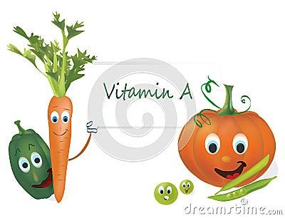 Vitamin A Vegetables
