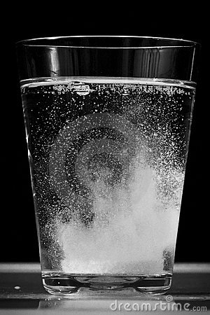 Vitamin in water