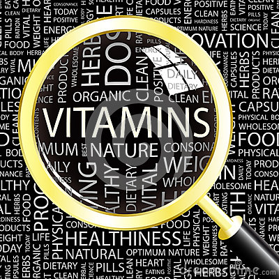 Free VITAMINS. Stock Image - 36679601
