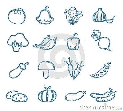 Free Vitamins Icons Stock Image - 33296941