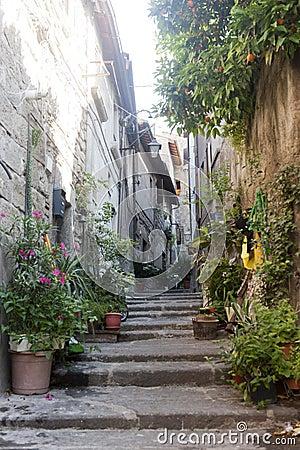 Viterbo, medieval town