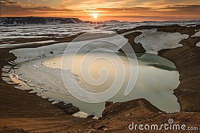 Viti crater, Krafla volcano
