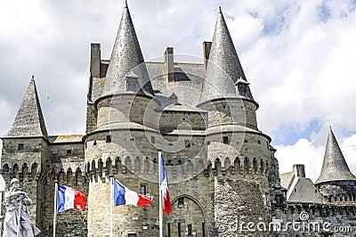 Vitré (Brittany) - Castle