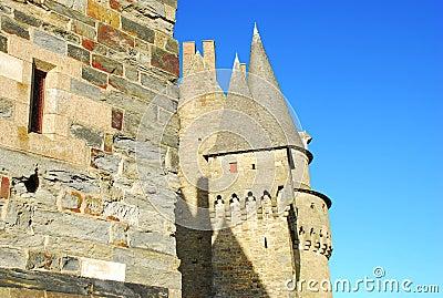 Vitré, Brittany, France, medieval castle