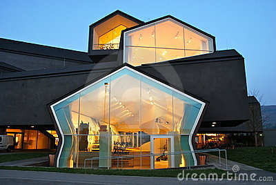 Vitra House by Herzog and de Meuron Editorial Photo