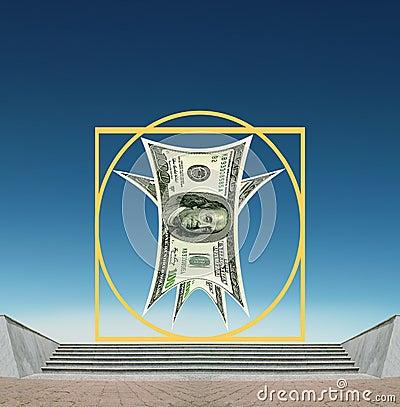 Vitruvian US Dollar - business success, standards