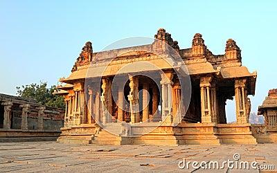 The Vittala temple ruins, Hampi