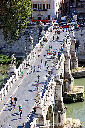 Vittorio Emanuele Bridge Editorial Stock Image