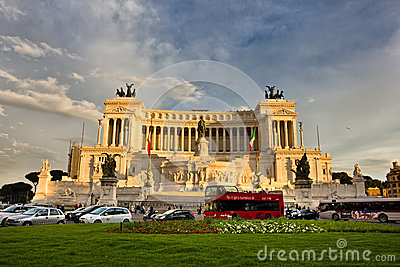 Vittorio Emanuele II Monument Editorial Photo