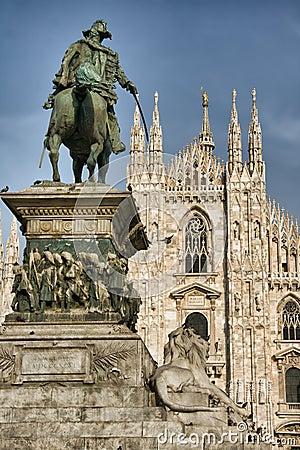 Free Vittorio Emanuele II Statue Stock Images - 7149734