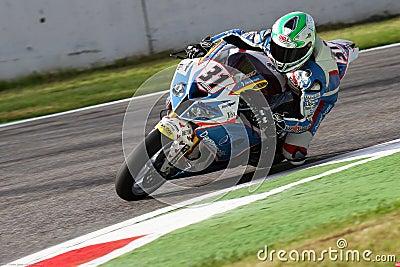 Vittorio Iannuzzo #31 on BMW S1000 RR with Grillini DENTALMATIC SBK Team WSBK Editorial Photography