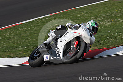 Vittorio Iannuzzo Triumph Daytona 675 Suriano Editorial Photo