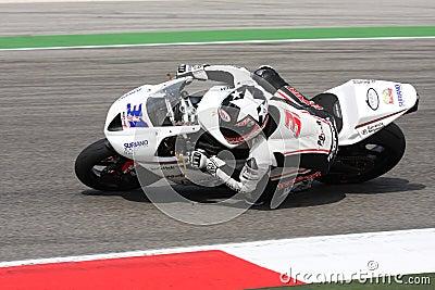 Vittorio Iannuzzo Triumph Daytona Suriano Editorial Image