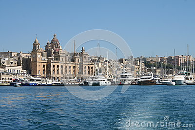 Vittoriosa, Malta Editorial Stock Photo