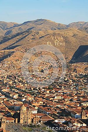 Free Viva El Peru, Cuzco Royalty Free Stock Photography - 26390727