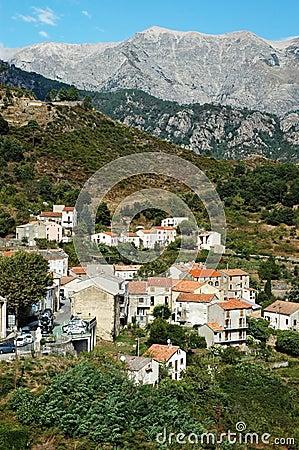 Vivario village, Corsica