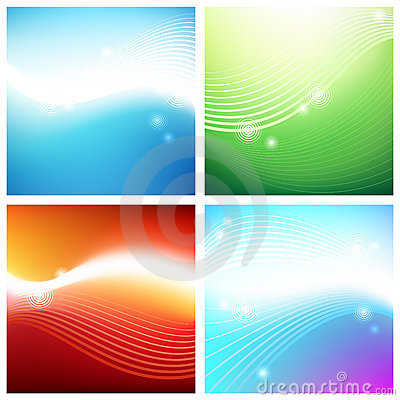 Vivid backgrounds of aura