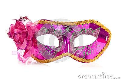 Vivid carnival mask