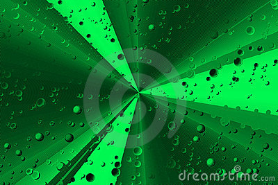 Vivid green background
