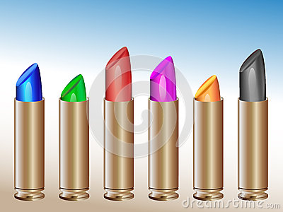 Vivid lipsticks