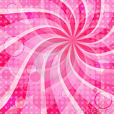 Vivid pink background