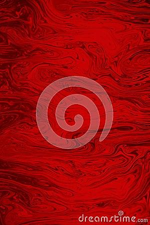 Vivid Red Background
