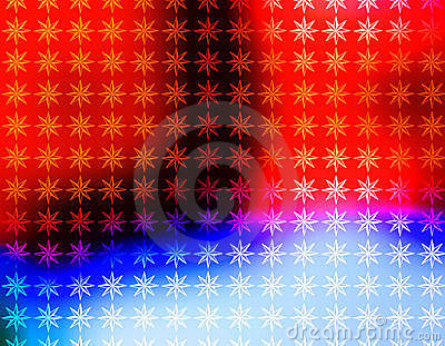Vivid Red White and Blue Stars wallpaper