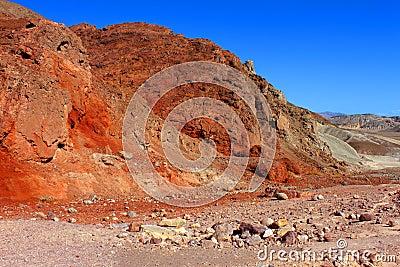 Vivid Rocks of Death Valley