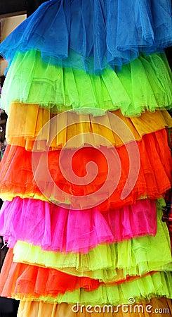 Vivid skirts