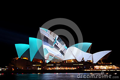 Vivid Sydney Editorial Stock Image