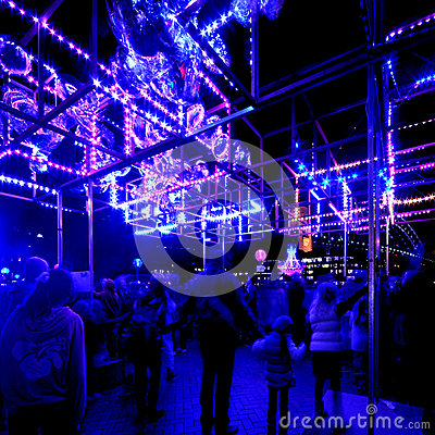Vivid Sydney Editorial Stock Photo