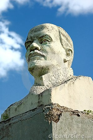 Vladimir Lenin. Statue