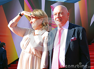 Vladimir Pozner at Moscow Film Festival Editorial Photo