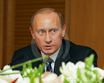 Vladimir Putin Editorial Stock Image