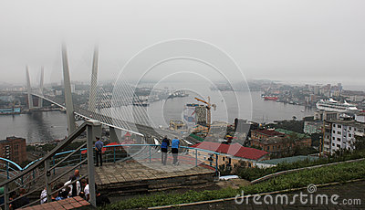 Vladivostok during the APEC summit in September  Editorial Stock Image