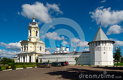 Vladychny monastery in Serpukhov, Moscow area, Russia