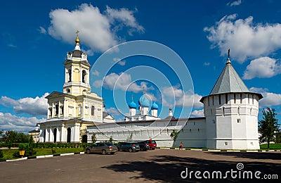 Vladychny monastery in Serpukhov, Moscow area, Russia