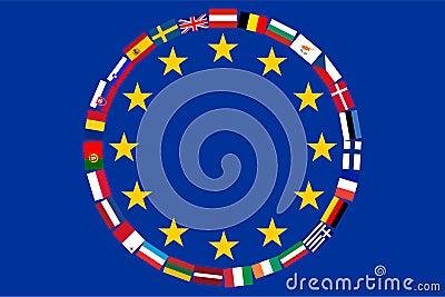 Vlaggen van de landenEU