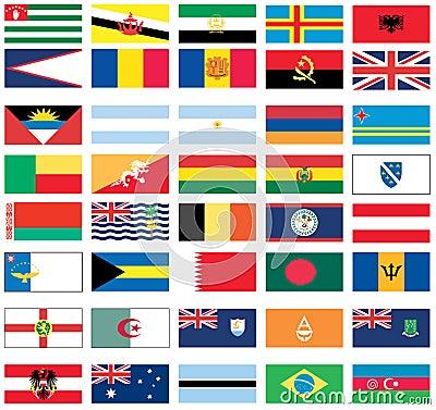 Vlaggen van wereld 2 van 8 stock afbeeldingen afbeelding 12333484 - Vloerlamp van de wereld ...
