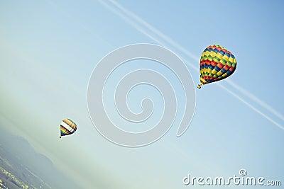 Vliegende ballons