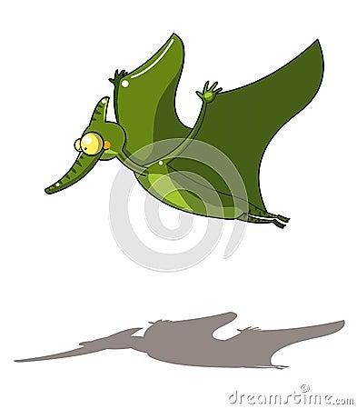 Vliegende dinosaurus