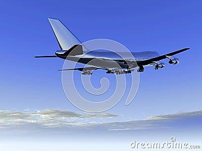 Vliegtuig dat 29 vliegt