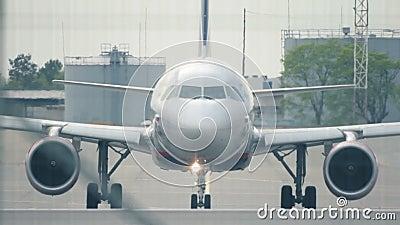 Vliegtuigen stock video