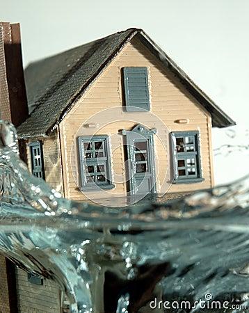 Vloed 2 van het huis