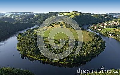Vltava River - Horsheshoe
